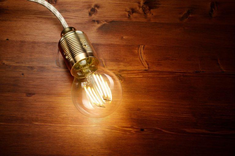 économie lampe led
